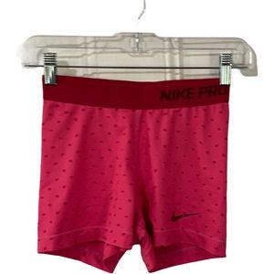 Nike Pro Hot Pink & Magenta Shorts Small